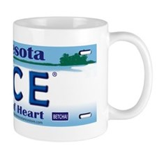 Lic Plate_state of heart copy Mug