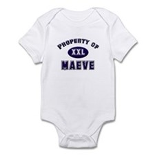 Property of maeve Infant Bodysuit