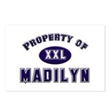 Property of madilyn Postcards (Package of 8)