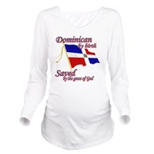 dominican1new Long Sleeve Maternity T-Shirt