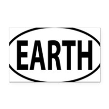 EARTH Rectangle Car Magnet