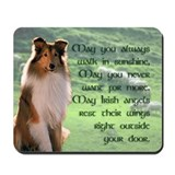 Irish Blessing Sheltie Mousepad