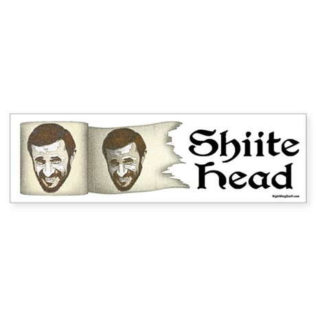 Shiite Head Bumper Sticker