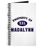 Property of madalynn Journal