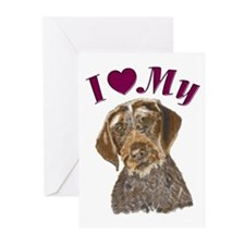Heart Pointer Greeting Cards (Pk of 10)