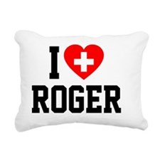 Roger Blanket 2 Rectangular Canvas Pillow