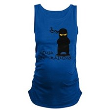 ninja in training Maternity Tank Top