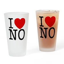 no_v Drinking Glass