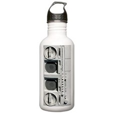 iphone boombox Water Bottle