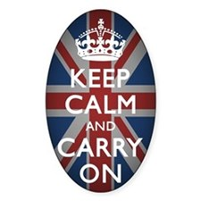 Keep Calm And Carry On with Union J Decal