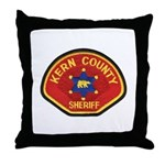 Kern County Sheriff Throw Pillow