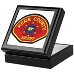 Kern County Sheriff Keepsake Box
