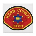 Kern County Sheriff Tile Coaster