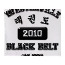WTKD 2010 Black Belt Club Throw Blanket