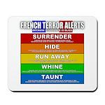 French Terror Alerts Mousepad