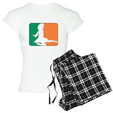 ID TriColor Girl DARK 10x10 Pajamas