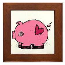 Pig - dk Framed Tile