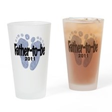 Father to be 2011 Drinking Glass