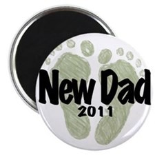 New Dad 2011 (Unisex) Magnet