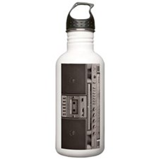 old school boombox Water Bottle