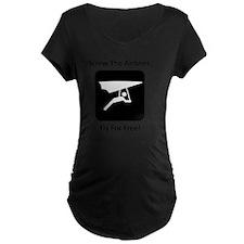 Glide Free Black T-Shirt