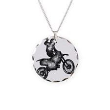 B:W Motorcross Necklace