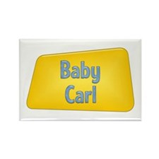 Baby Carl Rectangle Magnet