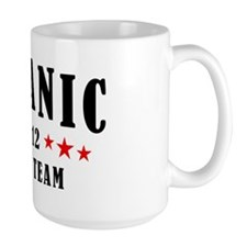 Titanic 1912 Swim Team Red and Black Mug