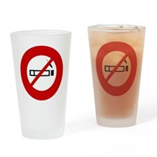 no-smoking Drinking Glass