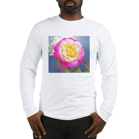 French Perfume Rose Coaster, T Long Sleeve T-Shirt