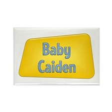 Baby Caiden Rectangle Magnet