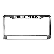 stuntman1 License Plate Frame