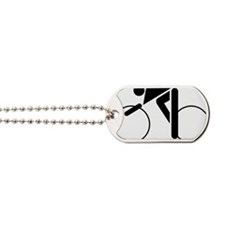 cycling.eps Dog Tags