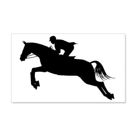 HorseJumper.eps 20x12 Wall Decal