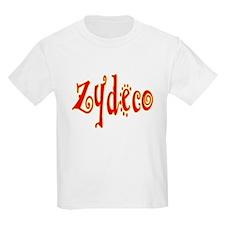 Zydeco Dancer Kids T-Shirt