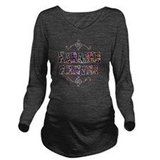 karaoke Long Sleeve Maternity T-Shirt