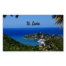 St Lucia 20x16 Decal
