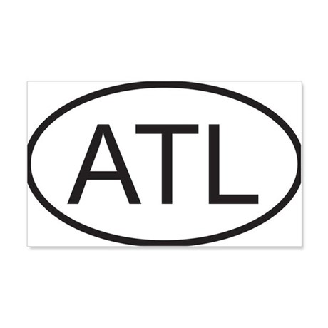 atlanta 20x12 Wall Decal