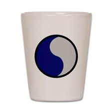 29th Infantry Division Shot Glass