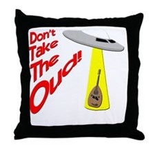 funny oud Throw Pillow
