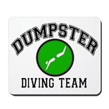 Dumpster Diving Team Mousepad