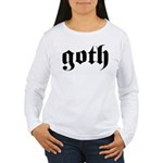 goth Women's Long Sleeve T-Shirt