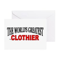 """""""The World's Greatest Clothier"""" Greeting Cards (Pa"""