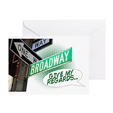 broadway6 Greeting Card