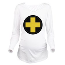 33rd Infantry Divisi Long Sleeve Maternity T-Shirt