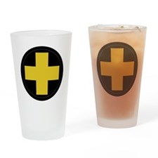 33rd Infantry Division Drinking Glass