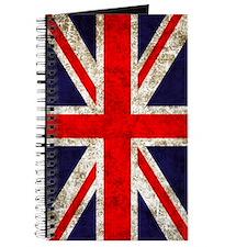 UK Flag Vertical Journal