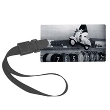 Stunt Scooter Luggage Tag