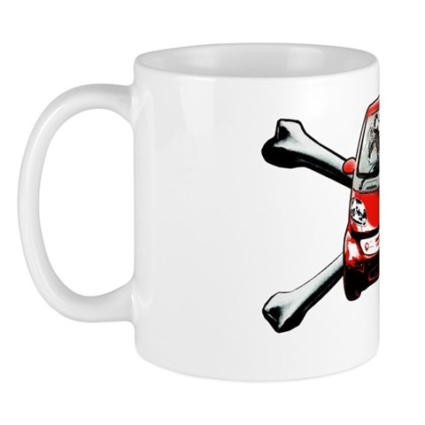 Smart Crossbones Red copy Mug