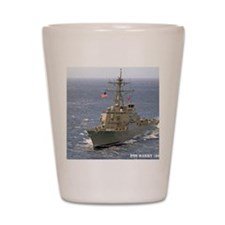 barry ddg note card Shot Glass